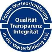 Mitglied im Forum Werteorientierung in der Weiterbildung e.V.
