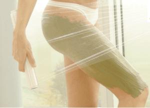 Cellulite Behandlung mit Algenschlamm