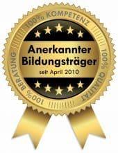 Vom Regierungspräsidium Darmstadt anerkannter Bildungsträger für Fort., Aus- und Weiterbildung im Wellnessbereich