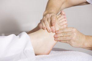 Fuß Massage