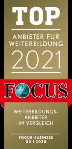 Bester Weiterbildungsanbieter 2021